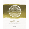 2019 Certified Organic Semillon